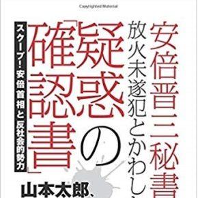 vol.17『安倍晋三秘書が放火未遂犯とかわした疑惑の「確認書」』と日本政府の未必の故意
